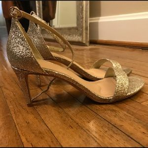 624e0ece2c8 Kelly   Katie Shoes - Kelly + Katie New Sparkly Gold Kirstie Heels!